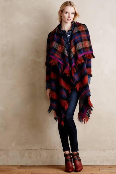 Hei Hei Tartan Blanket Coat