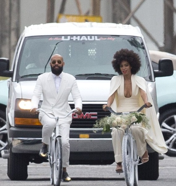 Solange and Alan Ferguson wedding