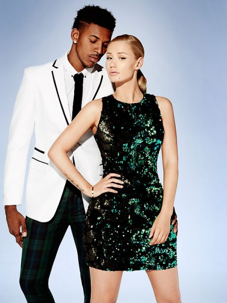 Iggy Azalea and Nick Young Forever 21 campaign