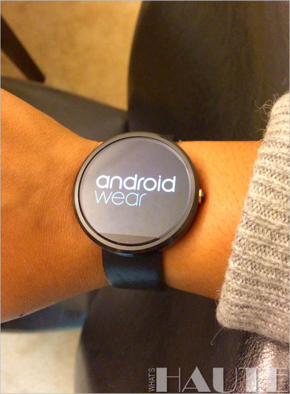 Moto 360 watch / Android Wear
