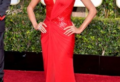 Heidi Klum 2015 Golden Globes