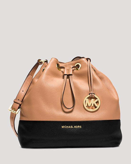 MICHAEL Michael Kors Shoulder Bag - Large Jules Colorblock Drawstring