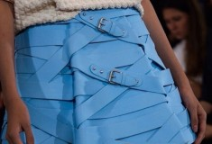 Marina Hoermanseder blue skirt