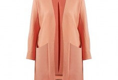 Marina Hoermanseder peach coat