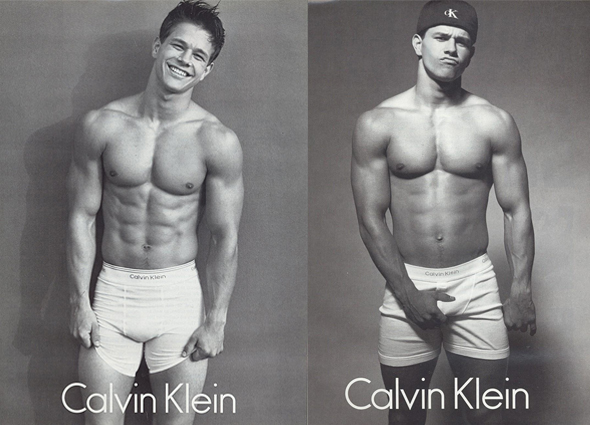 Mark Wahlberg Calvin Klein ads