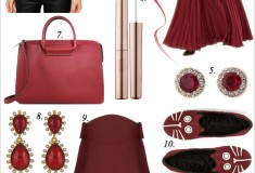 14 Ways to Wear Marsala – the Color of the Year