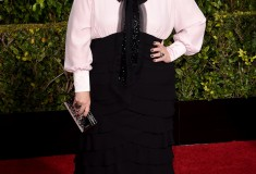 Melissa McCarthy at the 2015 Golden Globes