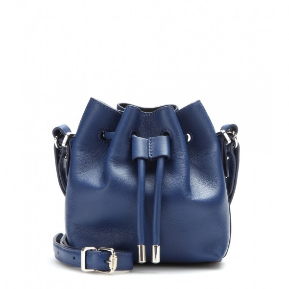 Proenza Schouler Tiny Leather Bucket Bag