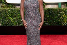 Uzo Aduba at the 2015 Golden Globes