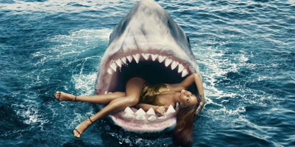 Rihanna Jaws