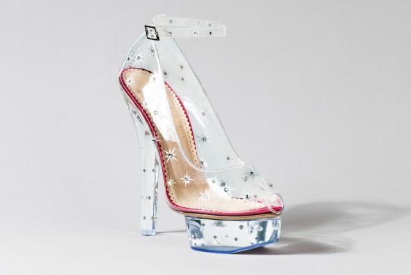 Charlotte Olympia Cinderella shoe