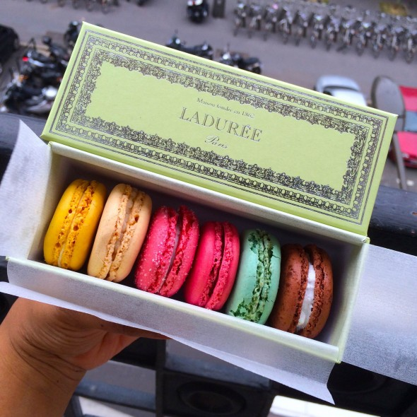 Travel Tuesday: 25 Things to Do And See in Paris - Macarons at Laduree - What's Haute in the World