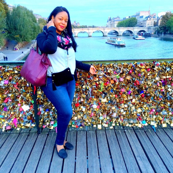 Paris - Pont des Arts Love locks bridge - What's Haute in the World