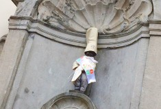 Mannekin Pis - Brussels, Belgium - What's Haute in the World
