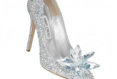 Nine Cinderella-Inspired Shoes to Wear IRL - Jimmy Choo Crystal Covered Pointy Toe Pump 'Cinderella Slipper'