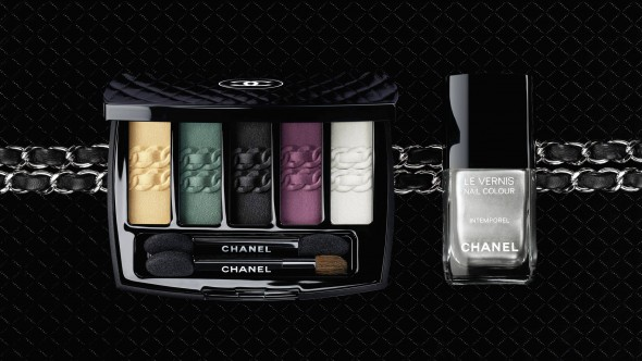 L'Intemorel De Chanel Eyeshadow Palette and Le Vernis Intemporel Nail Colour