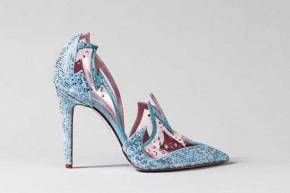 René Caovilla Cinderella shoe