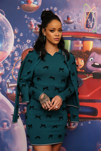 What She Wore: Rihanna in Adam Selman Fall 2015