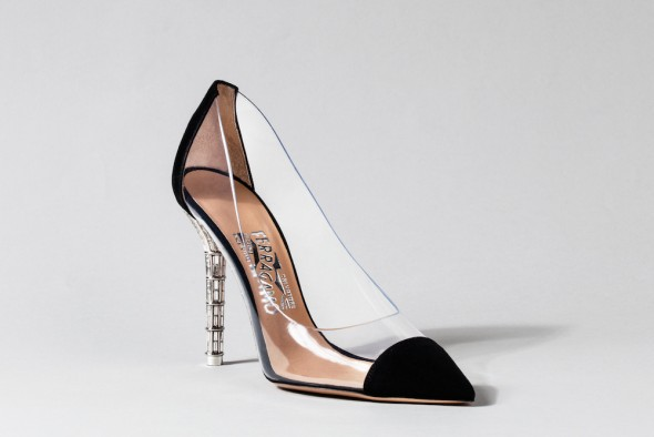 Salvatore Ferragamo Cinderella shoe