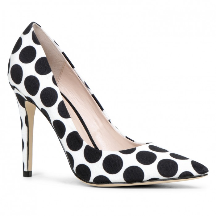 Aldo Choewia polka dot pumps