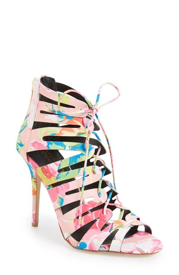 Kendall & Kylie Madden Girl 'Daylittle' Cage Sandal