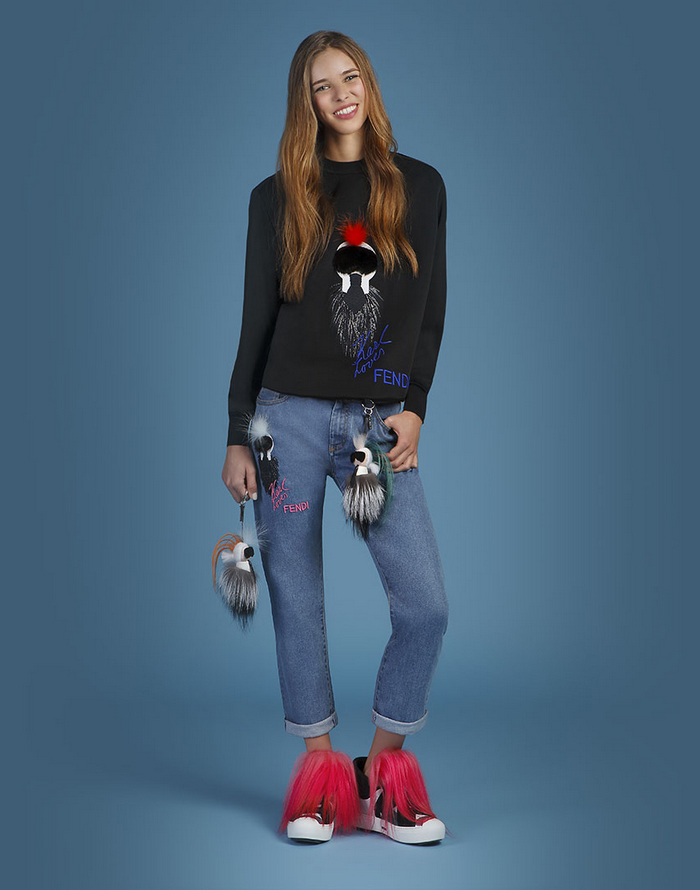Fendi Karlito Collection look