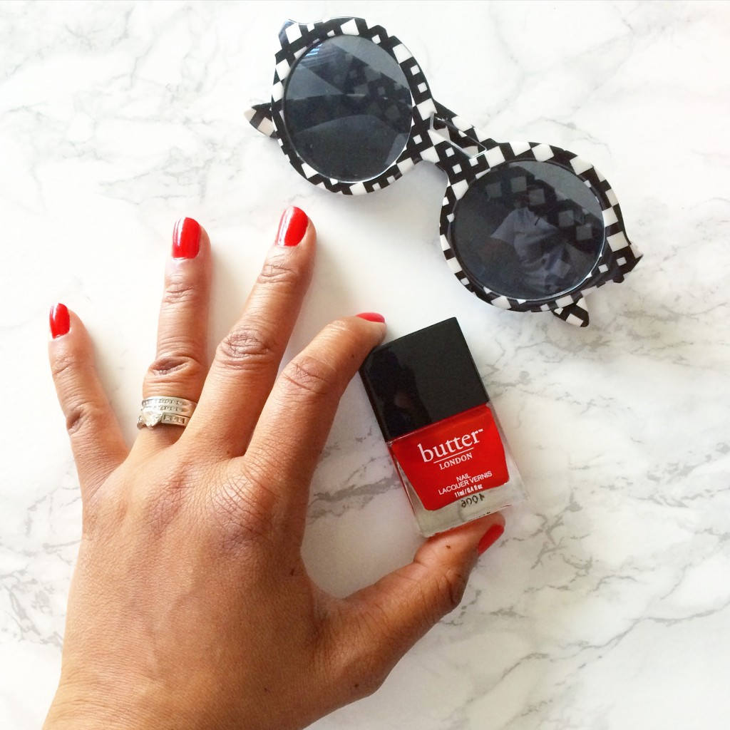 What's Haute | Beauty review: Makeup and cosmetics by butter LONDON, butter LONDON Nail Lacquer in Ladybird