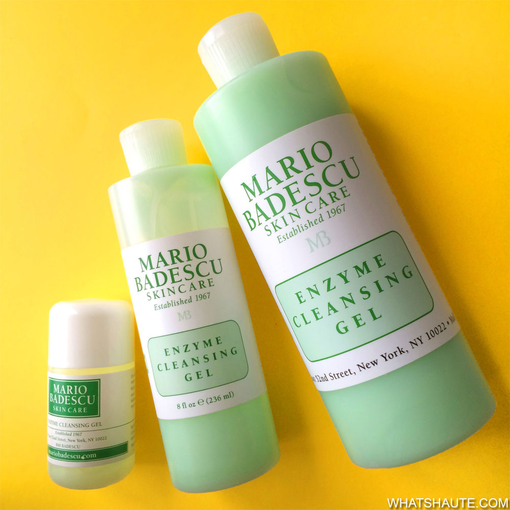My Latest Skincare Obsession: Mario Badescu Enzyme Cleansing Gel