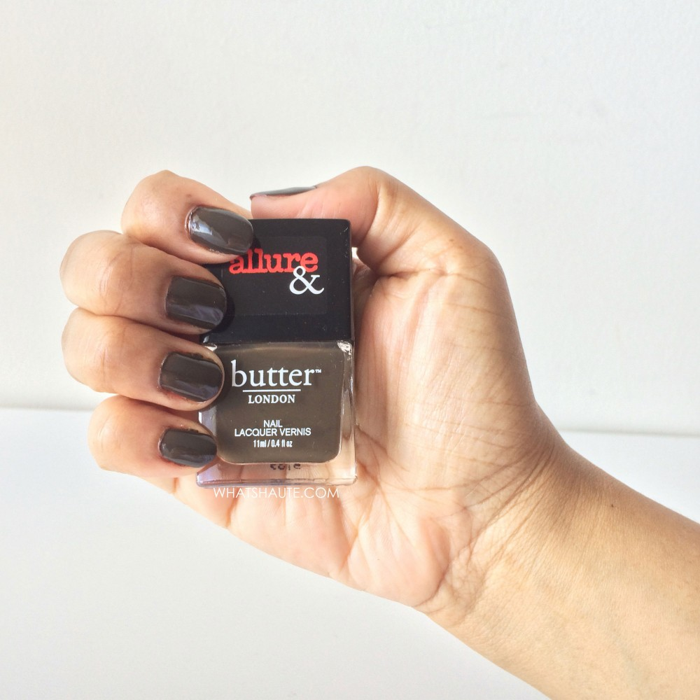 Mani Monday: Allure & butter LONDON Arm Candy Lust or Must? Nail Lacquer