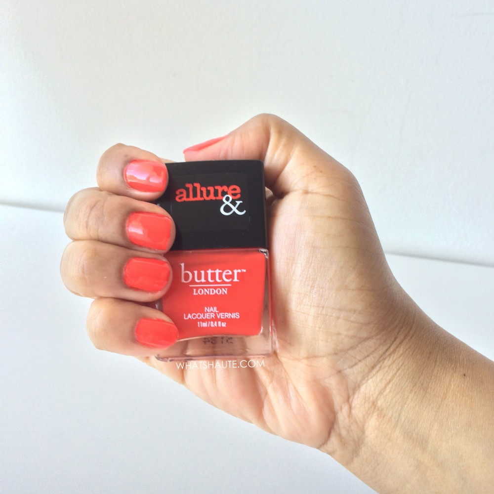 Mani Monday: Allure & butter LONDON Arm Candy Statement Piece Nail Lacquer