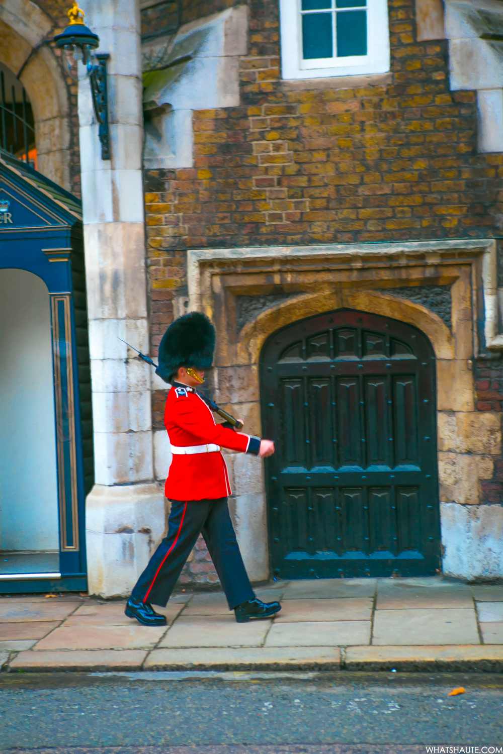 Royal Guard on Cleveland Row at St. James's Palace - London, England, What's Haute in the World