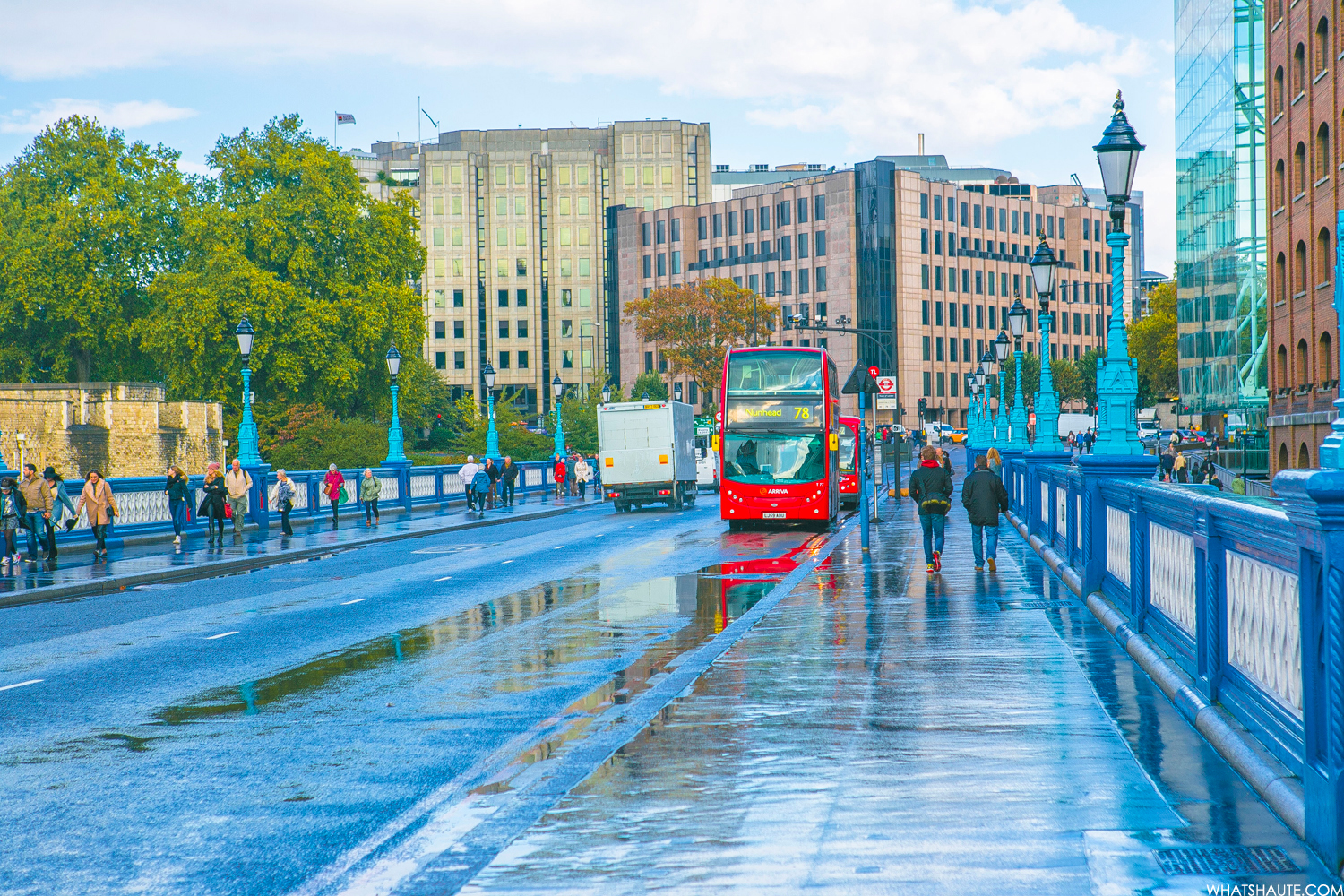 Tower Bridge after the rain - London, England, What's Haute in the World