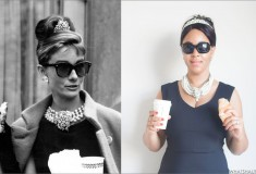 {VIDEO} Quick and Easy Halloween Costume: Audrey Hepburn in Breakfast at Tiffany's