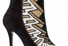 Balmain x H&M beaded boots