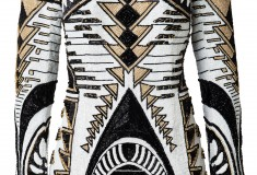 Balmain x H&M beaded dress 2