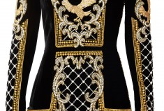 Balmain x H&M beaded dress