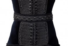 Balmain x H&M black dress