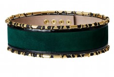 Balmain x H&M green belt