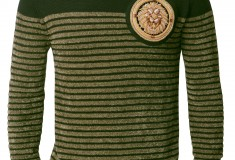Balmain x H&M green men's sweater