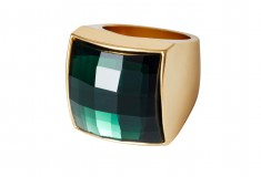 Balmain x H&M green ring
