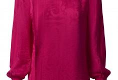 Balmain x H&M pink blouse