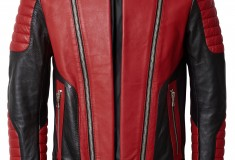 Balmain x H&M red and black men's jacket - Michael Jackson Thriller
