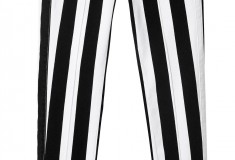 Balmain x H&M striped jeans