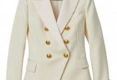 Balmain x H&M white blazer