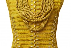 Balmain x H&M yellow rope top