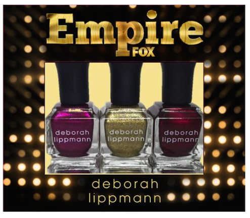 Limited edition Empire x deborah lippmann nail lacquer collection, Hustle Hard, Power Of The Empire, War Of The Roses