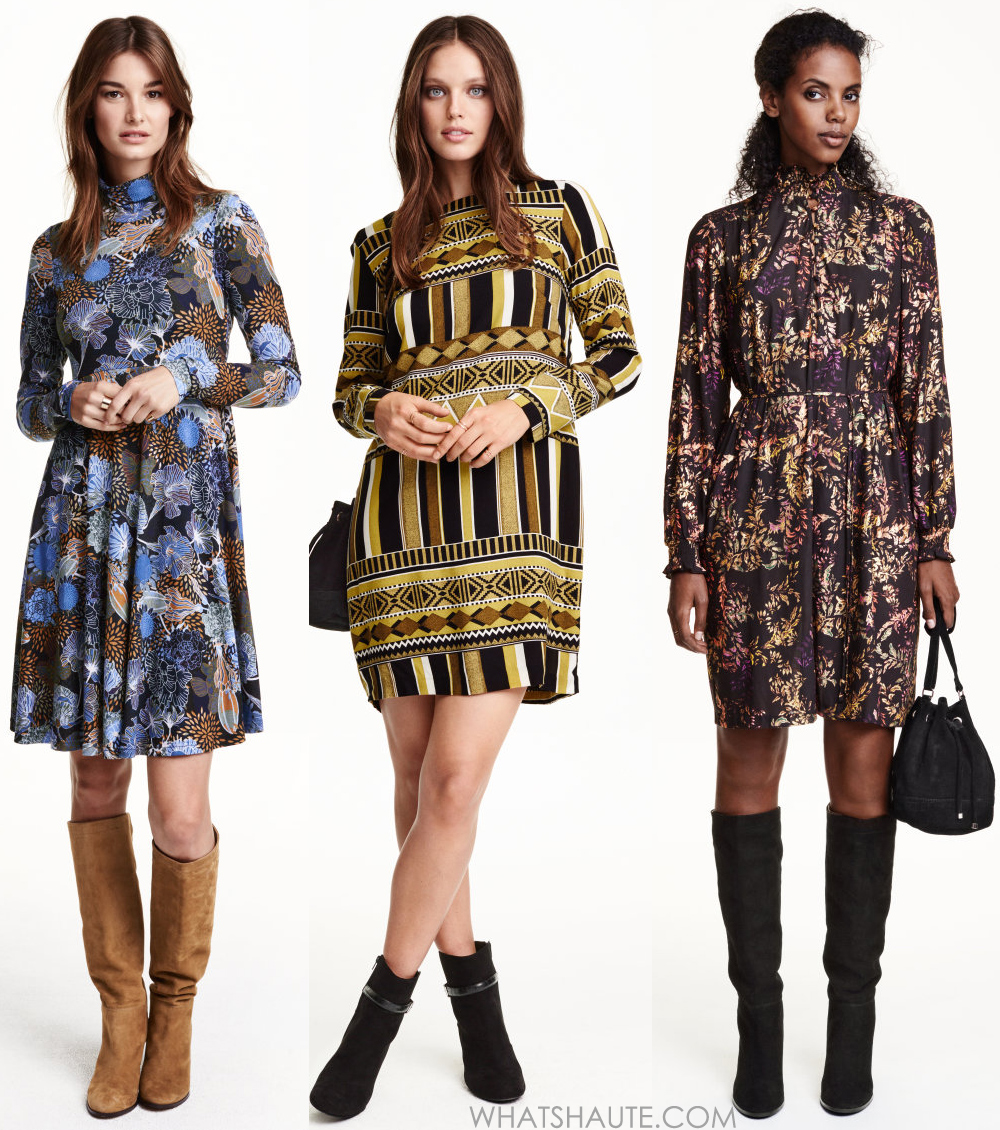 H&MPatterned Jersey Dress, H&M Patterned Dresses