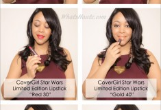 Makeup Monday: CoverGirl Star Wars Limited Edition Colorlicious Lipsticks