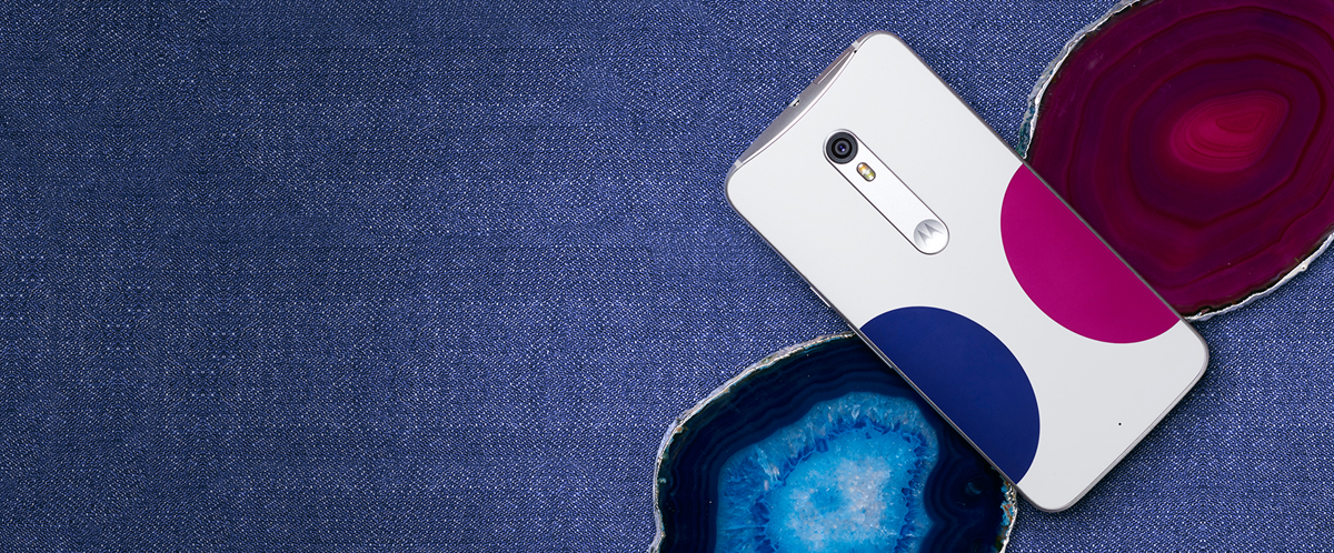 Moto X Pure Edition - Designed by Jonathan Adler