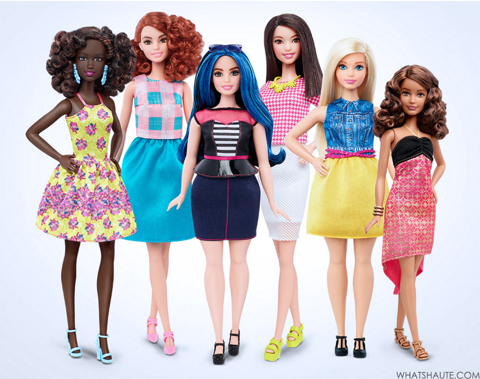 Petite, Tall and Curvy Barbie Dolls Launching in 2016